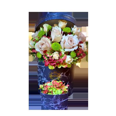Signature Drawer Box - Mix Flowers